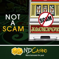 No Scam at Jackpot City Casino