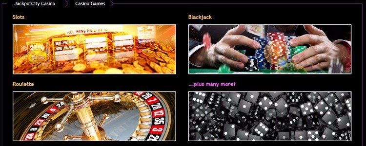 jackpot city online casino pokies and table games